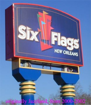 Official Six Flags New Orleans Link